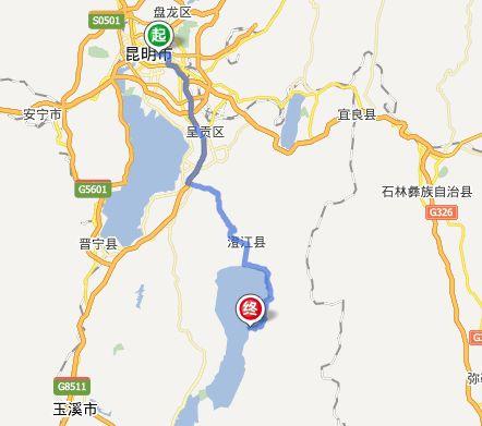 昆明到澄江怎么坐车?昆明到澄江抚仙湖多少公里?