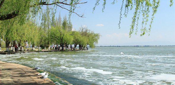昆明滇池海埂公园